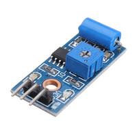 Wholesale Alarm Close - 1PCS Normally Closed Type Alarm Vibration Sensor Module Switch SW-420 For Arduino Smart Car 3.3V To 5V Electronic Components