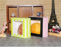 Wholesale Food Package Printing - HOT selling food packaging box snack box Cake Party baby shower Bakery box west point cake box mousse Cake Boxes