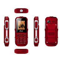 Wholesale waterproof phone resale online - E L K6900 Keyboard Waterproof Shockproof Dual SIM IP68 GSM Keyboard Mini Key Elder Telephone Rugged Phone FM Radio Mobile Phone