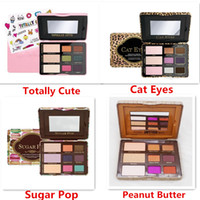 Wholesale Cute Face - Retail Makeup Faced Peanut & Jelly Butter Totally Cute Cat Eyes Sugar Pop Palette Eye Shadow Palette 9 Color Eyeshadow Palette Free Shipping
