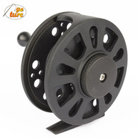 Wholesale China Reels - Goture(China) GLA 5 6, 7 8 WT Fly Fishing Reel Left Right Hand Fly Reel Coil Pesca Carretilha 1+1BB