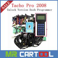 Wholesale Tacho Pro Best Price - Best Price Universal Dash Programmer Tacho Pro 2008 July Plus Unlock Version Odometer Programmer with 2year warranty DHL FEDEX Free shipping