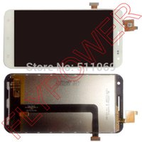 Wholesale Digitizer Zopo - Wholesale-100% New For ZOPO 3X ZP999 Touch Screen digitizer + LCD Display assembly white by free shipping