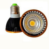e27 scheinwerfer großhandel-Dimmbare geführte Lampe der hohen Leistung par20 PFEILER 9W 15W E27 GU10 E14 führte Licht 110-240V Scheinwerfer geführte Birne par20 downlight Beleuchtung