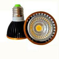 led ışıklar ampuller toptan satış-Yüksek güç Kısılabilir Led Lamba par20 COB 9 W 15 W E27 GU10 E14 Led Işık 110-240 V Spotlight led ampul par20 downlight aydınlatma