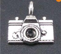 Wholesale Metal Charms Pendant Camera - Free Shipping Wholesale Fashion 100pcs Tibetan Silver Camera Charms Pendants Fit Charms Bracelet Girls Bijoux B339 DIY Metal Jewelry