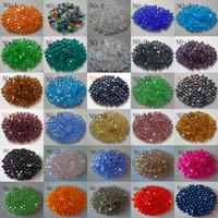 Wholesale Pink Bicone Crystal Beads - Wholesale Top Quality 2000pcs 4 mm swarovski crystal 5301 Bicone Loose Beads, U Pick color