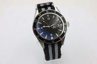 новые стильные наручные часы оптовых-Новый стильный Auto Sea 300 Spectre Limited Edition мужские наручные часы цвет ткани пояса стекло обратно Хронометр James Bond Spectre мужские часы