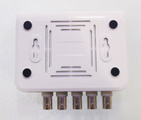 Wholesale Color Video Quad Splitter - 4-CH Channel DVR CCTV Quad Video Camera Processor System kit splitter switcher COLOR