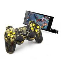 Black PC intelligente telefono cellulare OTG gioco joystick maniglia maniglia del gioco PS3 Android TV telefono mobile 2.4G