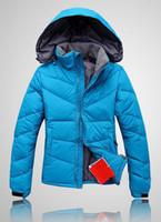 ağır kış katları kadınlar toptan satış-2018 en kaliteli Montları Aşınma Kalın kuzey Kış Açık Ağır Coats Aşağı ceket kadın yüz ceketler Giysi 700 4 renk