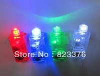 Wholesale White Finger Ring Beams - DHL Free shipping 1000PCS LED Finger Light,Laser Finger,Beams Ring Torch For Party,wedding celebration mix color