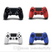 Wholesale Wireless Bluetooth Gamepad Controller Wholesale - Wireless Bluetooth Dualshock 4 PlayStation 4 Joystick Gamepad Controller PS4 game controller with touch pad with retail box