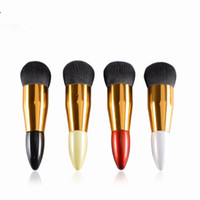 Wholesale Red Chubby - Makeup Brush Explosion Models Chubby Pier Foundation Brush Flat The Portable BB Cream Makeup Brushes F20172607
