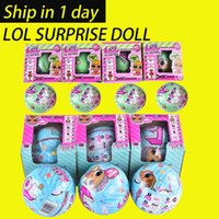 Wholesale Big Plastic Dolls - LOL SURPRISE DOLL Series 2 Dress Up Toys baby Tear change egg can spray Realistic Baby Dolls lil sisters 45+ to Collect OTH646