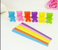 Wholesale Children Outlet - Free shipping New Arrival Hot Cute cartoon Connected Chopsticks,children and foreigners learning chopsticks factory outlet