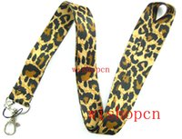 Patrón Popular leopardo mayorista Cordones Llaveros ID Badge Holder u15