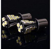 Wholesale Turn Brake Light - 1157 1141 1156 BA15S BA15D P21W Xenon 18 LED SMD CANBUS DRL WHITE 5050 ERROR FREE REVERSE