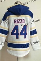 Wholesale Cheap Hoodie Free Shipping - Hoodie Chicago #44 Anthony Rizzo 2015 Baseball Jersey Cheap Rugby Jerseys Authentic Stitched Free Shipping Size 48-56
