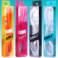 Wholesale matt electronics for sale - Colorful New Style Fashion Noble M USB Cable Retail Packaging Box Bag Package For iPhone Samsung Cables Free DHL KJ