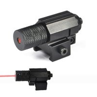 Wholesale Mini Red Dot Sights - Free Shipping 5mw Tactical Red Dot Laser Sight For Hunting, Mini Red Laser Sight For Pistol, Windage and Elevation Adjustable.