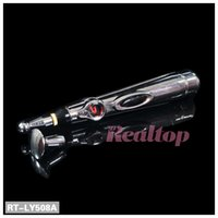 Wholesale Hot Massage Therapy - Hot selling pain relief therapy energy acupuncture pen electronic meridian acupuncture point therapy massage pen without battery