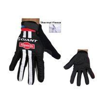 Wholesale Giant Cycle Gloves - 2015 Giant winter thermal fleece cycling long gloves bicycle cycling thermal mountain bike winter cycling gloves sport accessory mtb