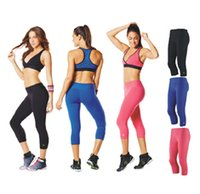Wholesale Perfect Legs - women legging Perfect Capri Leggings woman bottoms yoga pants black pink blue
