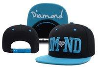 Wholesale Dmnd Snapback - Wholesale-2015 Summer DMND Diamond Hat zebra Baseball HipHop Snapback Sport Cap Men Women Adjustable Cheap Free Shipping