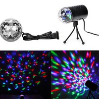 Gros-Lyres Laser Sound Projector Lumières 3W LED Show Effect Stade Disco Club DJ Party Lighting tournesol Divertissement US Plug