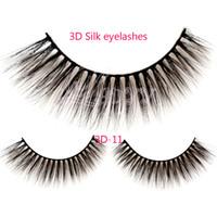 Wholesale Hair Volume Set - 3D-11 2016 False Eyelashes Handmade Natural Long False Eyelashes Fake Eye Lash 3D Glam Volume Sexy Eyelash extension 3Pair set