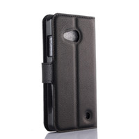 Wholesale Covers Bags For Microsoft - for Microsoft Lumia 550 Wallet PU Leather Case Cover for Lumia 540 N950 N950XL Flip Book Cases Bag with Card Slot and Stand