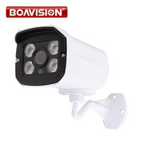 Wholesale camera ip hd onvif - HD 720P IP Camera Outdoor Bullet H.264 CMOS Security Camera IR Night Vision 3.6mm Lens Surveillance 1.0MP IP Camera Onvif