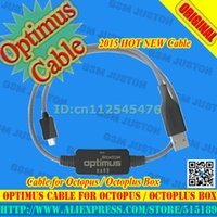 Wholesale Octopus Box Cables - Wholesale-Octopus box Octoplus box for optimus cable for LG P500, P970, P990, P999 and further models flash, unlock and service+Free Shipp