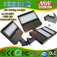 Wholesale Shoes For Cold - High efficiency LED shoebox retrofit kits for 24-300w metal halide lamp LED shoe box with US Cree led with 5 years warranty ip65