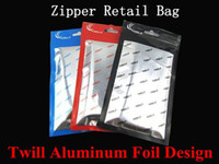 Wholesale Aluminum Case 4g - 10*18cm Twill Aluminum Foil Zipper Clear Retail Package Packaging Plastic Poly OPP Bag For iPhone 4 4G 4S 5 5S 5C + Small Phone Case Cover