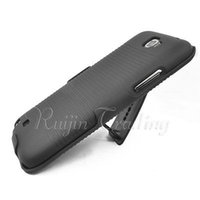 Wholesale Note Ii Cases Clip - Hard Smart phone Case For Samsung Galaxy Note 2 II N7100 Cover With Stand & Belt Clip Holster