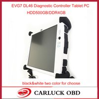 All'ingrosso-2015 New Super Car diagnostico Tablet PC EVG7 DL46 per il garage professionale / servizi di riparazione auto meccanico evg7 evg PC 7 Tablet