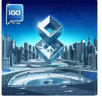 igo gps novo mapa venda por atacado-Mais novo iGO Primo 8 carro DVD GPS cartão do mapa com EUA CA europa Austrália Nova Zelândia Rússia Israel mapa do Brasil para wince ou sistema android