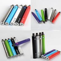 Wholesale V3 Ego E Cig - EGO T Passthrough E Cig 1300mAh Vaper Pens Battery Micro USB Pass Through UGO V3 Vaporizer Battery with Cable Chargers ecigs