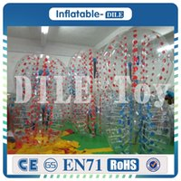 Wholesale inflatable bubble for sale - Group buy Durable m Inflatable Football Bubble Ball Bumper Ball Body Zorbing Bubble Soccer Human Bouncer Bubbleball Zorb Ball