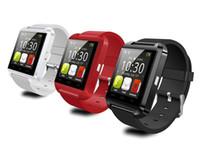 сотовый телефон часы android оптовых-Смарт-часы U8 Bluetooth альтиметр Анти-потерянный 1,5-дюймовый наручные часы U Часы для смартфонов iPhone Android Samsung HTC Sony Сотовые телефоны