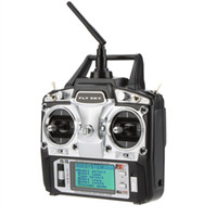 Wholesale 6ch Rc Helicopters Sale - Hot Sale Hot Original Flysky FS-T6 2.4GHz 6CH Mode 2 Transmitter and Receiver R6-B for RC Quadcopter Helicopter With LED Screen