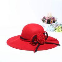 Venta al por mayor de Sombrero De Invierno Gran Borde - Comprar ... f0b6b6b6204