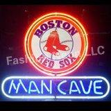 Оптово-Революционная Неон супер ярких Mlb Boston Red Sox Бейсбол Man Cave Пиво Знаки неоновый свет Signs19