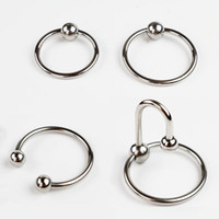 Wholesale Jewelry For Sex - Men Penis Delay Rings Stainless Steel Cock Ring Adult Sex Toys For Couples Glans Jewelry Cockring