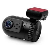 Wholesale Car Dvr Ambarella Gps - FULL HD Ambarella A7L50 1080P Support TF Card Up to 32GB Car Camera GPS G-Sensor Cycle Recording Car DVR