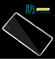 Wholesale Mini C4 - Transparent TPU Gel Crystal Clear Ultra Thin 0.3mm Clear Soft Back Case Cover Skin for Sony Z5 Premium Z5 Compact Mini E4 E4G M4 M5 X C4 C5