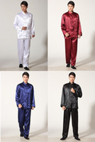 Wholesale uniform kungfu clothing for sale - Group buy Shanghai Story Factory Price Tai Chi clothing taijiquan performance clothing work clothing kungfu suit wushu uniform set kung fu suit M301X