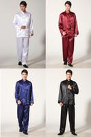 tai chi xxl roupas venda por atacado-Xangai História Preço de Fábrica Tai Chi roupas taijiquan desempenho roupas de trabalho roupas de kungfu terno wushu uniforme conjunto kung fu terno M301X